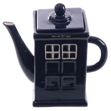 Dr Who style Police Box Teapot - Novelty teapot, Collectable teapot