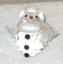 SWAROVSKI CRYSTAL SNOWMAN    LIMITED EDITION  RETIRED