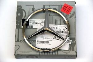 MERCEDES BENZ ML GL CL R CLASS STAR LOGO EMBLEM GENUINE OEM 2005-2012 W164 X164