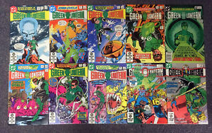 JERRY WEIST ESTATE: 19 issues GREEN LANTERN (DC 1982-94) all NM! NO RES!
