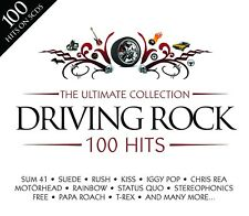 ULTIMATE DRIVING ROCK - TESLA, SANTANA, FAITH NO MORE, DR. FEELGOOD - 5CD NEW+