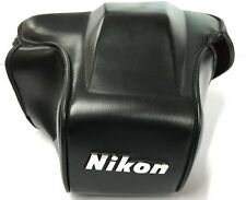 NIKON CF35 LEATHER CASE FRONT/TOP SECTION  ONLY