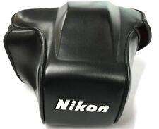Nikon CF35 Étui en cuir avant/Top section seulement