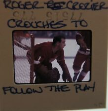 ROGER CROZIER Detroit Red Wings Buffalo Sabres Capitals ORIGINAL SLIDE 3