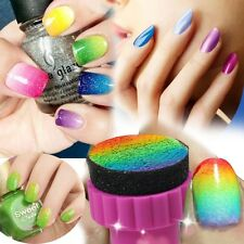 New Mode Nagel Stempel Sponge Stamping DIY Gradient Nail Art Set Maniküre Tattoo