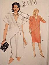 V-8972 Dress Sewing Pattern Vogue Size 8 Cut & Complete