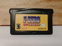 F-Zero GP Legend (Nintendo Game Boy Advance, 2004) Video Game Authentic Tested