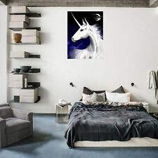 Newest 3D DIY Diamond Painting Unicorn Modern Wall Painting 25X30CM