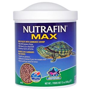 Nutrafin Max Turtle Pellets Food with Gammarus 340g