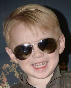 TOP GUN MAVERICK BABY AVIATOR SUNGLASSES AGES 0-3 GOLD