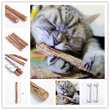 Cat Natural Molar Toothpaste Catnip Stick Cleaning Teeth Toy Cat Tasty Snacks