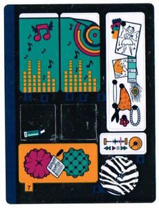 LEGO 41341 Sticker Sheet for Friends - Andrea's Bedroom - NEW Decals