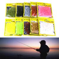 10 pcs Pêche Ver 6g 5 cm Nage appâts Jig Doux Bouclés Queue Leurre Fly Fish Bait