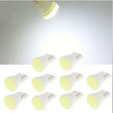 10x 1 LED COB SMD T10 W5W Wedge Side Car Super Bright White  Light Bulb Lamp 12V