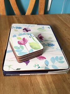 Pimpernel Portmeirion Water Garden Placemats and Coasters (Read Description)