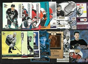 2000-01 2001-02 MCDONALD'S PACIFIC NHL HOCKEY CARD & INSERT SEE LIST