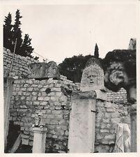 VAISON LA ROMAINE c. 1935 - Masque Bas-Reliefs Vestiges Vaucluse - NV 692