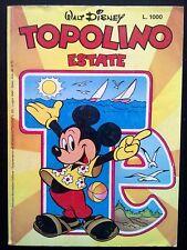 Topolino Estate - Suppl. Almanacco Topolino n.331 1984