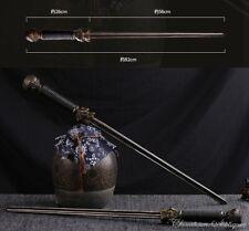 Qin Qiong Double Jian 1045 Steel Mace Killer Jian Martial Arts Phurbas 秦瓊雙锏#1683