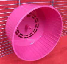 Clip Roue Hamster silencieuse sur souris hamster nain rose gerbilles 6inch silencieux en plastique