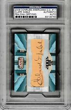 2009 Donruss Americana Clark Gable Cut Auto Card #1/1 PSA/DNA Gone With The Wind