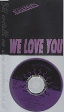 CD--BLACKPRINT - SINGLE -- WE LOVE YOU -ROLLING STONES-