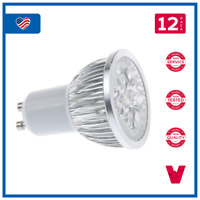 7W Short Neck Super Bright LED MR16 GU10 Base 85-265V Non-Dimmable Warm White