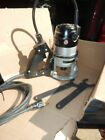 USA PORTER CABLE 5372 537 D HANDLE ROUTER W/ WRENCHES AND 1/2' COLLET