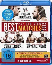 WWE Best of Pay-Per-View Matches 2012 2 Blu Ray Set orig WWF deutsch