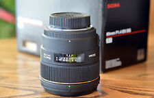 Sigma EX 85mm f/1.4 HSM EX DG Lens For Nikon