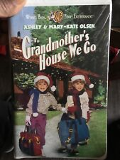 VHS  TO GRANDMOTHER'S HOUSE WE GO  WARNER BROS.  1993