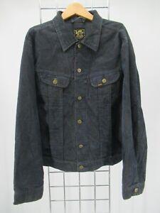 I9403 VTG Men's Lee Premium Quality Button Down Corduroy Jacket Size XL