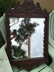 Vintage Early 1900's Rare T Eaton Co Canada Large Heavy wood Wall Mirror
