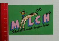 Aufkleber/Sticker: Milch Schulmilch (100416176)