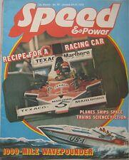 Speed & Power magazine 24 January 1975 Issue 45