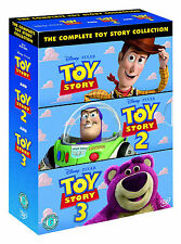 Toy Story 1 - 3 + BONUS Features  Complete Collection Dvd Set New
