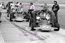 Fittipaldi & Wissel Gold Leaf Lotus F1 Team Questor Grand Prix 1971 Photograph