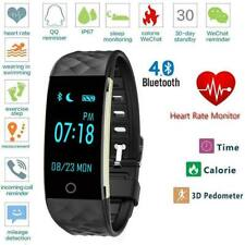 S2 Fitness Smart Watch Waterproof Heart Rate Sleep Monitoring For iOS Android US