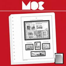 Moclair intérieur pour carnets de timbres 2000-2010.