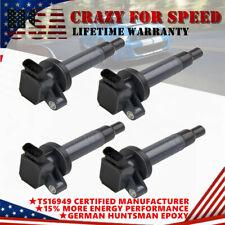 4x UF247 Ignition Coils For 00-08 Toyota Corolla Celica Chevy Prizm Pontiac 1.8L