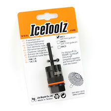 IceToolz 09C1 Bike Cassette Lockring Tool with Guide Pin for SHIMANO Disc Brakes