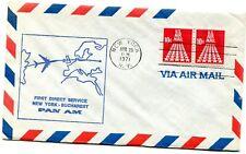 Pan American World Airways First Flight New York - Bucharest Romania - 1971