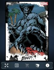 BEAST-INKED SERIES 2-COLOR-TOPPS MARVEL COLLECT DIGITAL