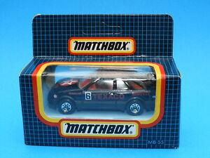 1989-91 Matchbox 1-75 Series car: 1983 Ford Sierra XR4i in black & red Texaco