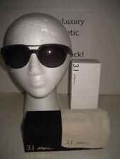 NEW 3.1 Phillip Lim Men Dwayne Oval Tortoise Sunglasses 57/18/135 Handmade Japan