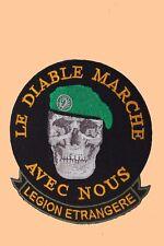Patch de la Légion Etrangère à coudre ou à coller au fer ( Hauteur:10cm)