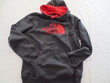 The North Face HALF DOME HOODIE Sweatshirt CZZ70C7 GREY RED Mens SIZE MEDIUM M