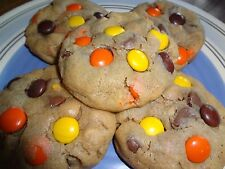 SOFT & GOOEY HOMEMADE REESE'S PEANUT BUTTER CHOCOLATE PUDDING COOKIES (3 DOZEN)
