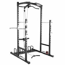 Marcy Cage Home Gym MWM-7041 Best Lat Tricep Pulley Pull Dip Weight Station Rack