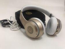 Beats by Dr. Dre Solo3 On-Ear Wireless Headphones - Satin Gold(plz read details)